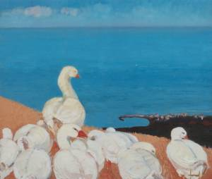 A Gaggle over the Sea