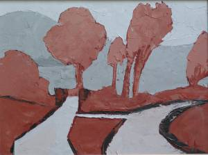 Study for the Five Roads