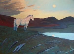 Pony Stallion in the Paps, Cork