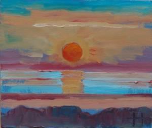 Sunrise over Kilcoole, Wicklow