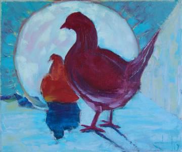 Morning Hen
