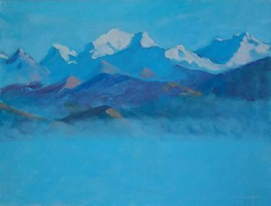 Morning Mist Sikkim