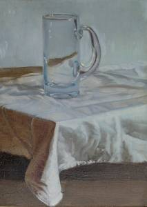 Glass on a Cloth