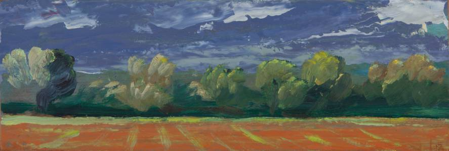 Stormy Day Near Roussillon